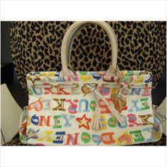 Dooney & Bourke Doodle Hearts and Stars tassel tote/matching heart wristlet on eBid United States