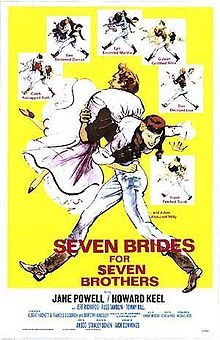 Seven Brides for Seven Brothers (1954).