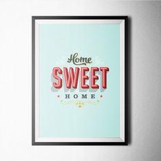 Fancy | Home Sweet Home Print
