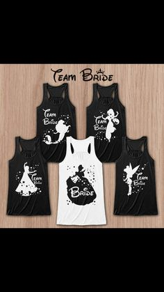 Team Bride Shirts! Love- Must have!!