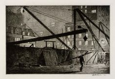 nickyskye meanderings: Martin Lewis, print-maker, artist (1881-1962)