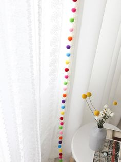 Three Ways to Decorate with Sheer Curtains in the Bedroom Cute Curtains, Tassel Curtains, Kids Curtains, Curtains With Rings, Sheer Curtains, Curtain Fabric, Bedroom Curtains, Curtain Clips, Bedroom Decor