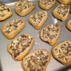 Cream Cheese Sausage Pinwheels These are the best things ever! My Sunday School teacher always makes them- so good!!