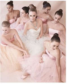 Ballet inspired details fit for a (swan) queen...