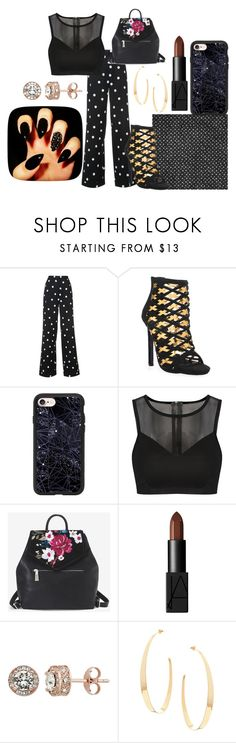 """""""Untitled #61"""" by iulianaenache526 on Polyvore featuring Monse, Privileged, Casetify, White House Black Market, NARS Cosmetics and Lana"""