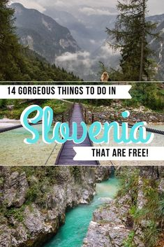 From rolling mountains to lush green landscapes and beautiful waterfalls. Here are 14 things to do in Slovenia that are absolutely free too! Visit Slovenia, Slovenia Travel, Slovenia Tourism, Croatia Travel, Places To Travel, Places To See, Travel Destinations, Travel Tips, Bali