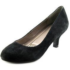 1fd4a8ce7ec Easy Spirit Reinie Kitten Women US 5 Black Heels