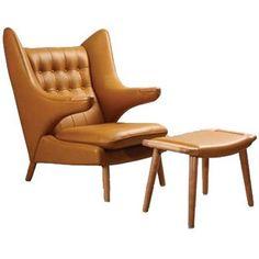 Papa Bear Chair & Ottoman