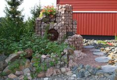Ekikori gabion ideas. Ekikori kivikori ideoita puutarhaan.