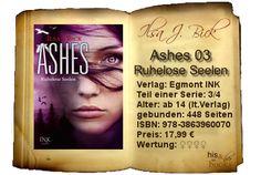 """""""Ashes 03 – Ruhelose Seelen"""" setzt die Messlatte der Bücher noch einmal höher. Zu den immer blutigeren und ekelerregenden Szenen gesellt sich die Psycho-Schiene, die einen gleichermaßen ins Buch saugt wie am Verstand zweifeln lässt. Neue Erkenntnisse und die Blicke in die Untiefen auch normaler Menschen üben eine morbide Faszination aus, der man sich trotz Gewalt und Brutalität nicht entziehen kann."""