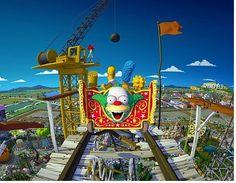 the Simpsons Universal Studios & Islands of Adventure