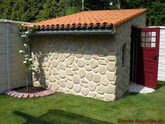 halbschale teja curva, dekorativ für den grill/ofen im garten. in, Hause und Garten