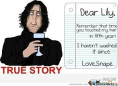 Snape = Forever Alone