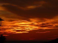 Sunset in A Coruña