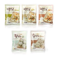 Easy chef / Dduck-Man2  Dumpling Package 5 series Design