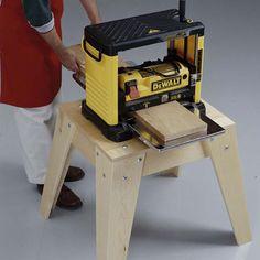 "Very simple tool stand built w/ 3/4"" Hardwood"