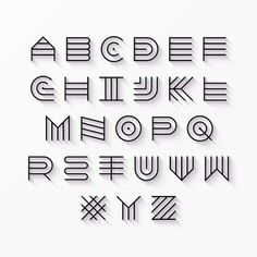Origine incurvée Ensemble de l'alphabet - 123RF.com