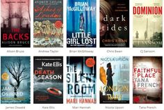 Mystery Fanfare: CWA Dagger in the Library Award Longlist