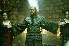 Chow Yun-Fat as 'Sao Feng' makes his appearance... 'At World's End' (still from film)