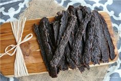 Allergy Free Alaska beef jerky made from ground beef - want to try!