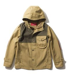 FILSON RED LABEL Tin Cloth Wind Parka