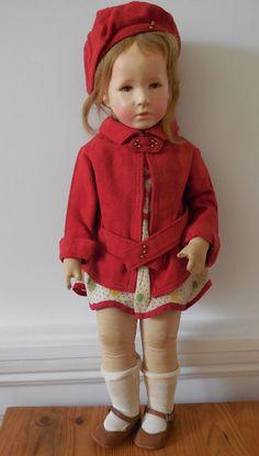 Large Vintage Kathe Kruse Doll