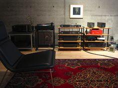 Listening room at Kakinokizaka by meguropolitan, via Flickr