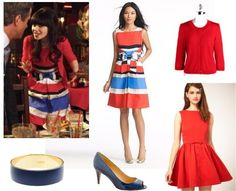 """Get the look: Jess's dress from the disastrous date 01x22 (""""Tomatoes"""")"""
