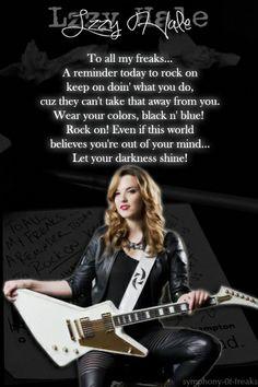 Lzzy Hale ✾ of Halestorm Music Is Life, My Music, Lzzy Hale, Hip Hop, Women Of Rock, Guitar Girl, Halestorm, Metal Girl, Badass Women