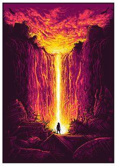 Radiant Dusk - Dan Mumford ----