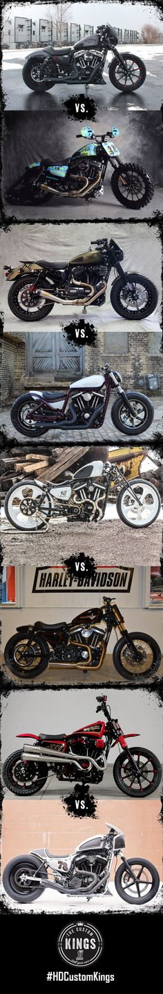 Vote for the 64 Sportsters built by the customization experts at H-D dealers across the U.S. New round of voting each Tuesday. | #HDCustomKings Great Lakes Region