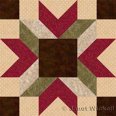 Free+Quilt+Block+Patterns,+M+through+S