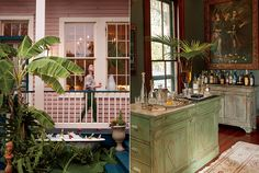 Designer Alexa Pulitzer's Bayou Saint John house invites both lively gatherings and quiet family time