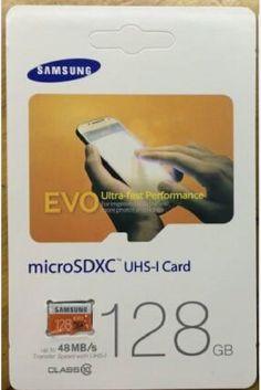 SCHEDA MICRO SD SAMSUNG EVO DA 128 GB