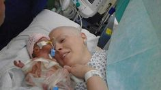 La madre con cáncer que perdió a su #bebé dona miles de euros - Contenido seleccionado con la ayuda de http://r4s.to/r4s
