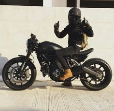 Ducati Scrambler custom cafe racer                                                                                                                                                                                 More