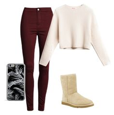 """""""Cozy autumn outfit"""" by being-perfect-is-a-fantasy on Polyvore featuring UGG Australia"""