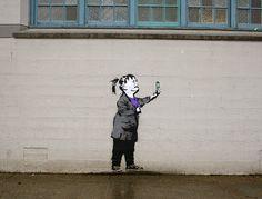 #graffiti #streetart #banksy