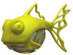 Medelco Dunkfish Tea Infuser, Citron