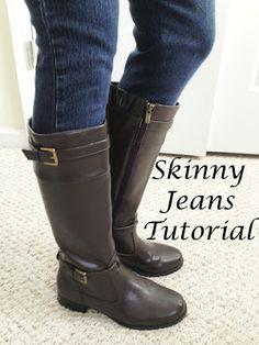 Sew Spoiled: Skinny Jeans Tutorial