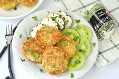 Recipe by: The Aussie Gourmet Photo By: Kitchen Tested http://www.theaussiegourmet.com/popular-recipes/fried-green-tomatoes-with-herbed-goat-cheese/