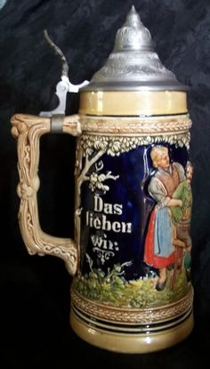 More than sellers offering you a vibrant collection of fashion, collectibles, home decor, and more. Types Of Drinking Glasses, Different Types Of Beer, German Oktoberfest, German Beer Steins, Beer Mugs, Mug Cup, Tea Set, Craft Beer, Pottery