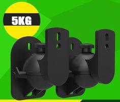 >> Click to Buy << 1 Pair Universal Surround Speaker Wall Bracket Mount Tilt Swivel Holder Stand S03 #Affiliate