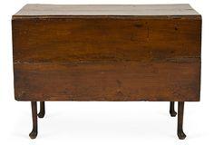 18th-C. Elm Drop-Leaf Table on OneKingsLane.com  $949.00