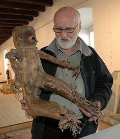 Jan Švankmajer with Otesánek