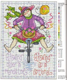 Growing older quote Cross Stitch Quotes, Cross Stitch Boards, Just Cross Stitch, Cross Stitch Art, Cross Stitch Designs, Cross Stitching, Cross Stitch Embroidery, Cross Stitch Patterns, Blackwork Patterns