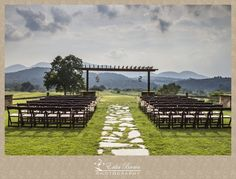 Beautiful Location for a Wedding Ceremony.  Brasstown Valley Resort | Georgia Mountain Wedding  www.ErikaBrownPhotography.com