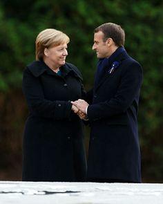 🇩🇪🇫🇷 - #angelamerkel#emmanuelmacron#mercron#merkel#macron#Germany#france#europeunion Emmanuel Macron, Work Outfits, Amazing Women, Germany, France, Fictional Characters, Instagram, Angela Merkel, Deutsch