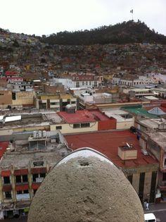 Vista desde el Reloj Monumental de PAchuca.