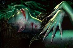 Estrie- Jewish folklore: a female vampire creature that could take the form of a human woman, birds, and cats. They could be killed by decapitation, burning, stuffed earth into their mouths at burial, wooden stake to the heart, silver bullet, and holy water. They can be healed with prayer and can enter holy places.